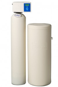 What is a hard water softener and how does it work