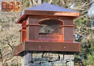 A propos de chapeaux de cheminée en cuivre