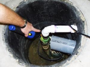 Installing a sump pump drain