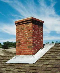 Preventing chimney flashing leaks