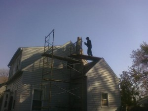 About chimney tuck-pointing