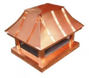 Koperen schoorsteenkap voordelen