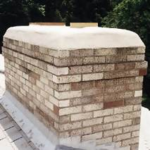 How to cement a chimney crown