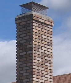 Chimney liner – wall distance
