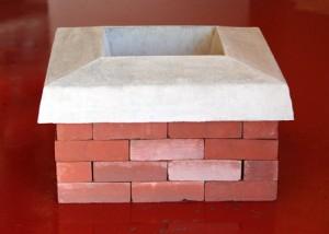 Reconstruire une couronne cheminée endommagée
