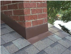 About chimney flashing leaks