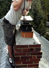 About chimney flue cleaning