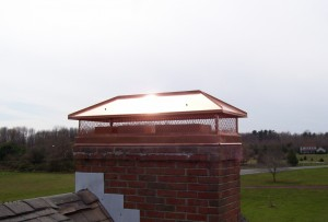 About copper chimney cap