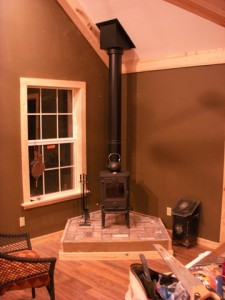 About the wood stove chimney pipe