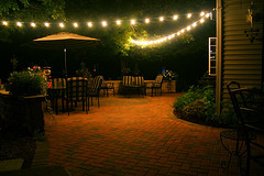 Light strings - Outdoor patios