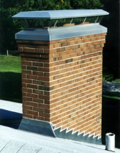 Round chimney cap installation tips