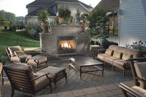 Sobre los diseños de patio al aire libre