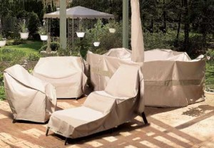 Winter preparations for patio furniture