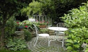 Diseño del patio de invierno