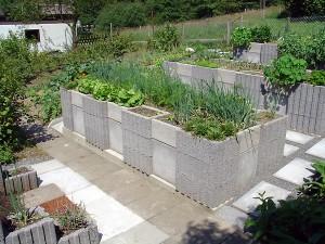 Fonction d'eau jardin