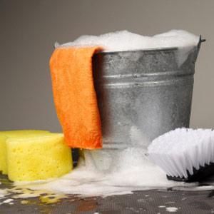 Patio de limpieza