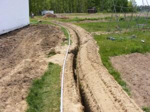 Jardín sistema de riego – instalación