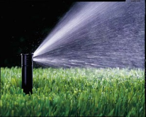 Sprinkler irrigation system maintenance