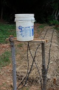 Irrigation system – Homemade