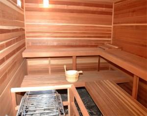 Sauna wartung
