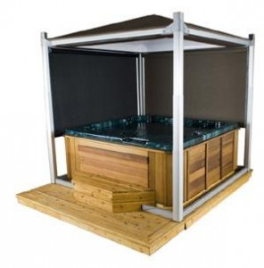 Hot tub gazebo alternatives