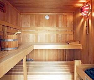 Accesorios del sauna