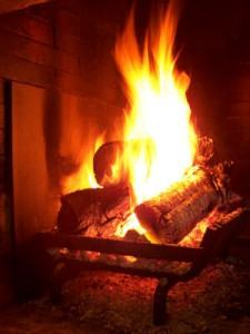 Chimenea de la prevención de incendios