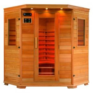Infrarrojos consejos sauna edificio