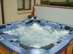 Hot tub verkabelung prozess
