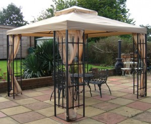 Why to own a metal gazebo
