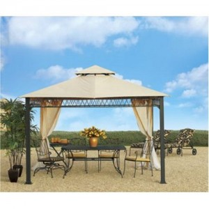Steps to assemble a canopy gazebo