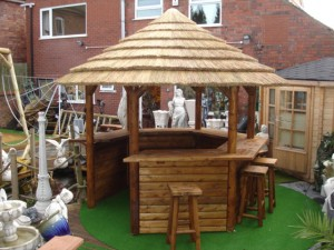 Making a gazebo bar