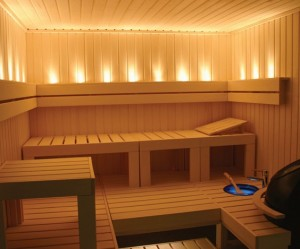 How to intensify a sauna bath experience
