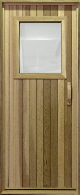 The importance of a sauna door