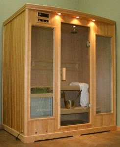 Sauna therapy for removing dangerous toxins and heavy metals