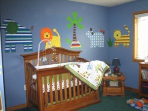 Make a nursery with used baby furniture