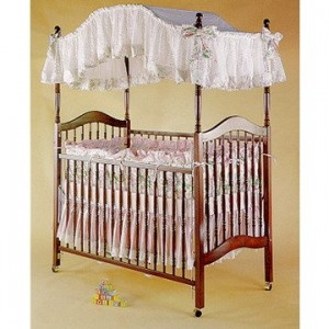 & The advantages of a canopy baby crib