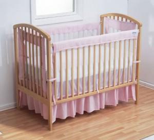 Cleaning a nursery crib