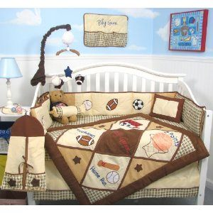 Homemade bedding for your baby's crib