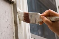 How to paint a window frame