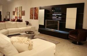 Tips to create an entertainment center in a living room