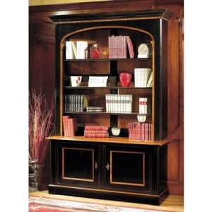 Improve the look of a bookcase by framing it