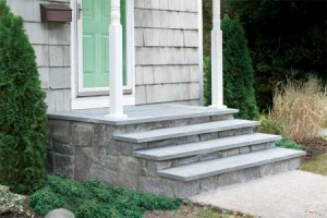 Ideas for building concrete steps