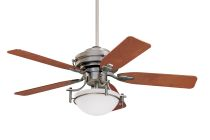 A simple solution: the ceiling fan