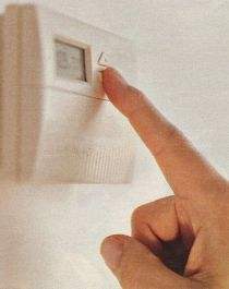 Energy-saving usage of the thermostat