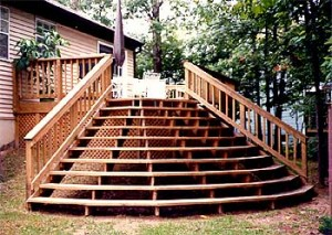 Tips to design deck stairs