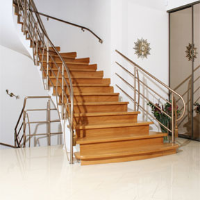 Installing laminate flooring on stairs