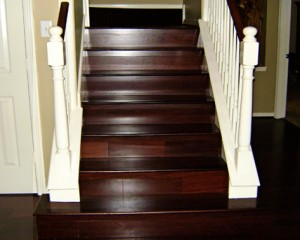 about laminate flooring for stairs