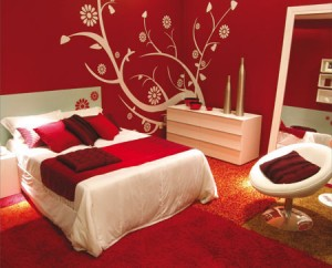 Miten makuuhuoneen värit vaikuttavat meidän tunnelmia