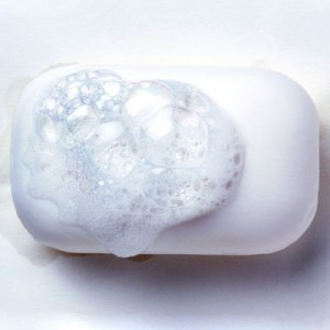 Using hard water soap
